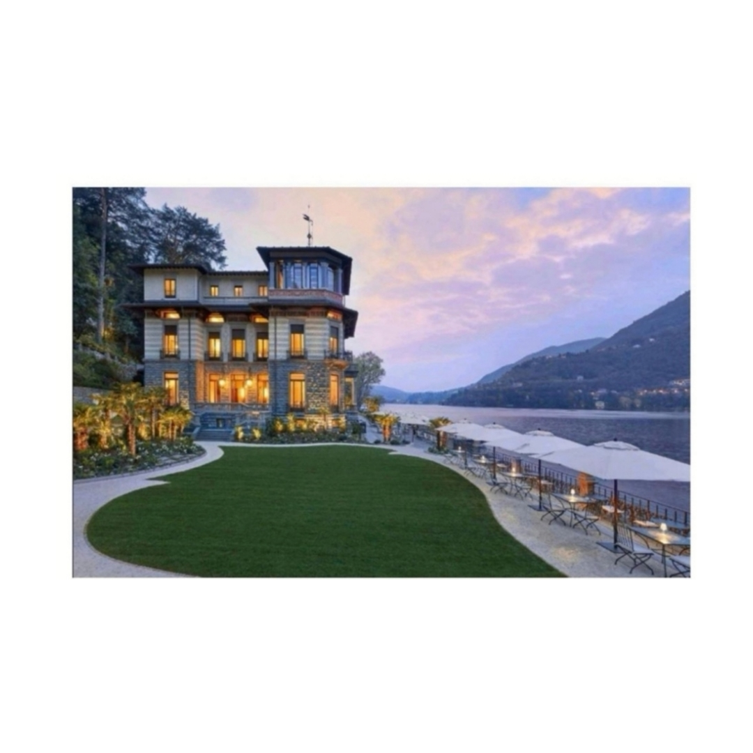 Mandarin Oriental Lake Como opening cocktail – June 2019