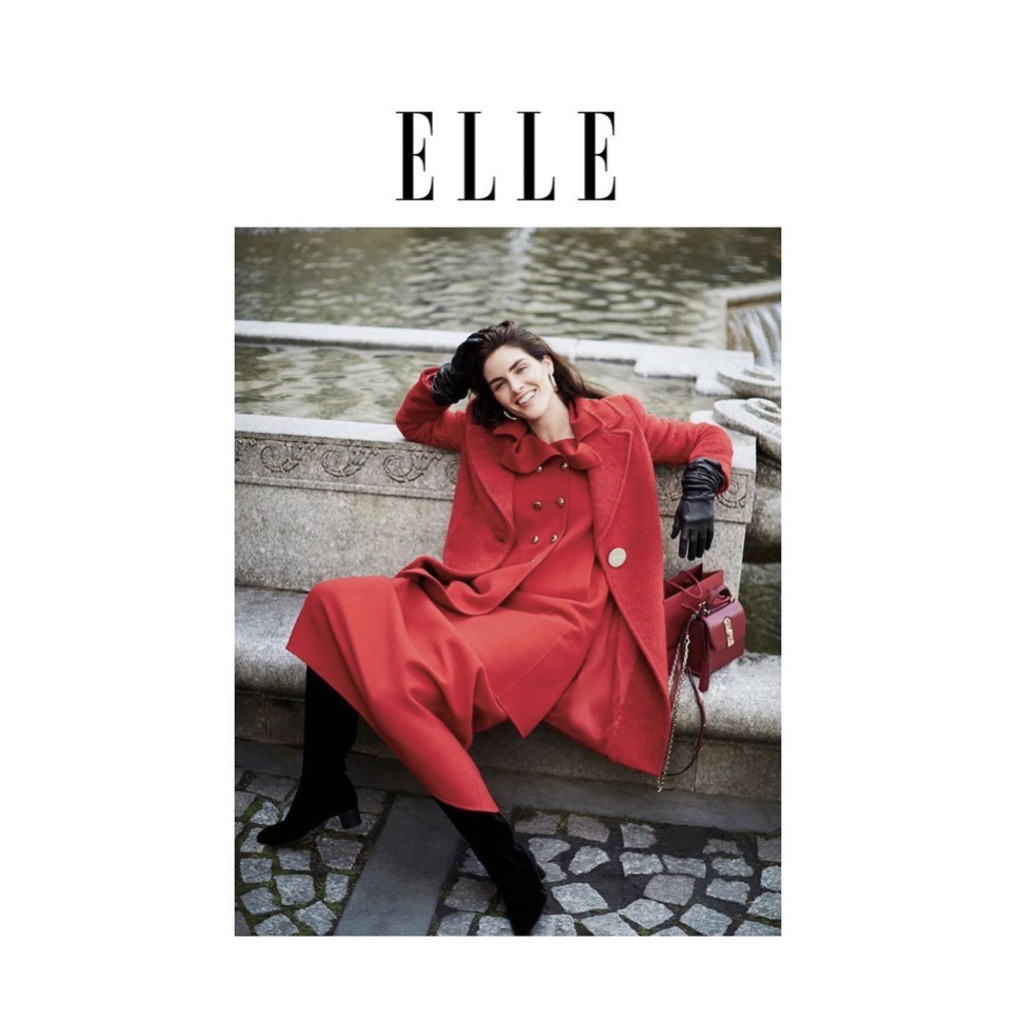MILA SCHON ON ELLE - November 2019