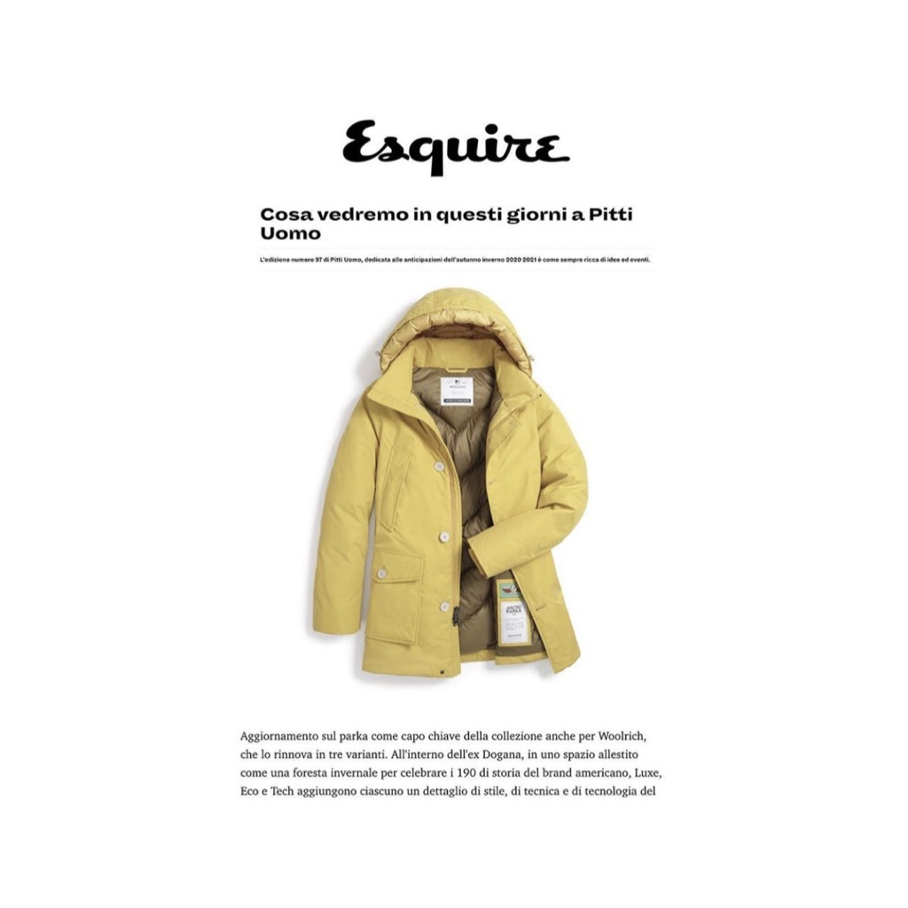 WOOLRICH ON ESQUIRE - January 2020