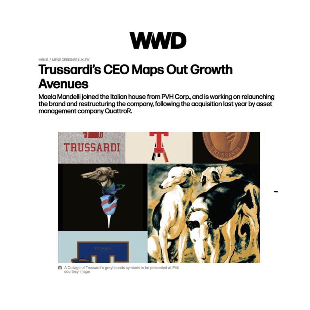 TRUSSARDI ON WWD - January 2020