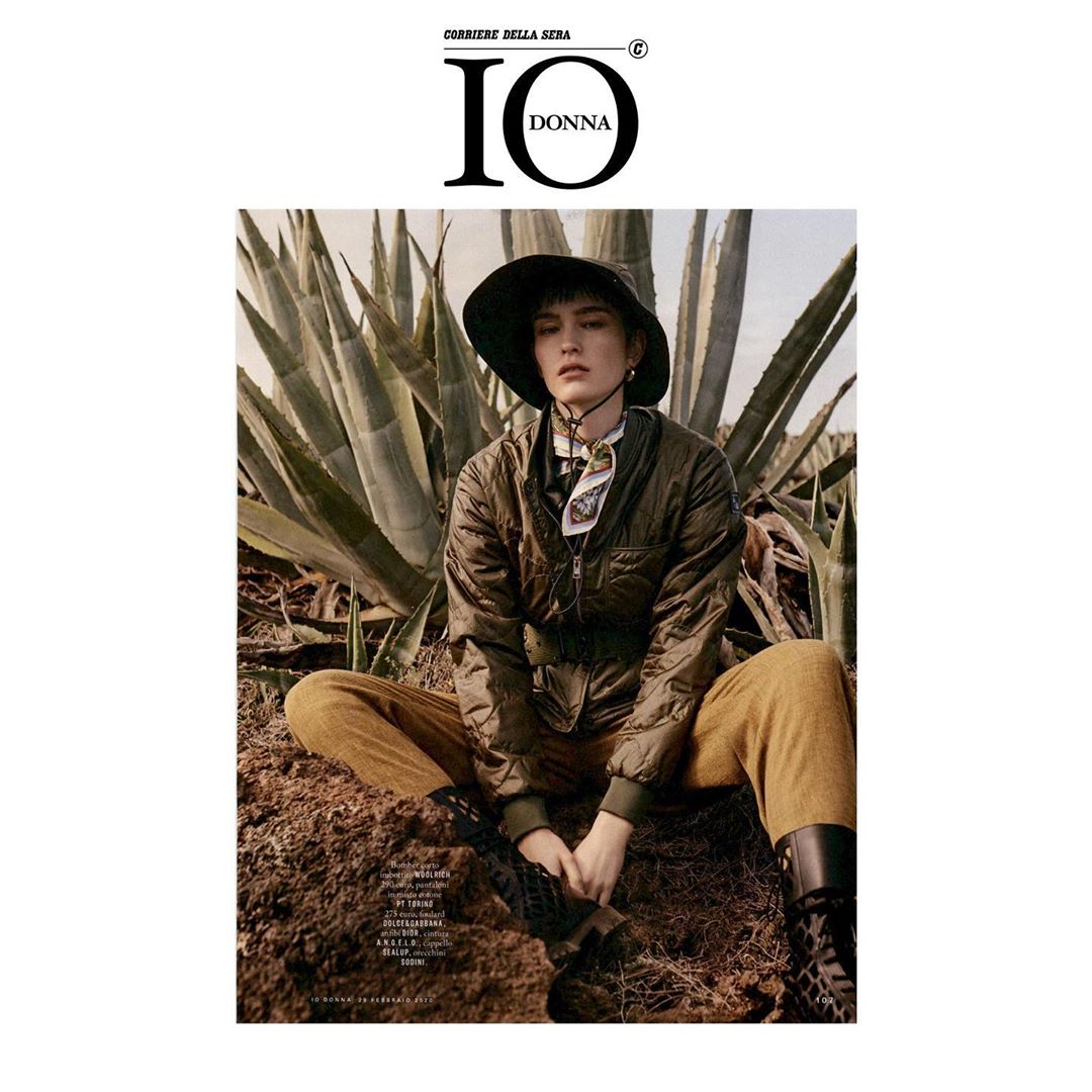 Woolrich on Io Donna - March 2020