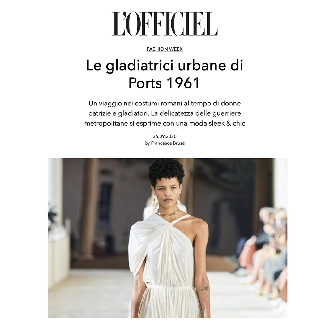 Ports 1961 on L'Officiel - September 2020